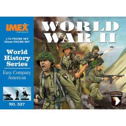 WWII EASY CO AMERICAN. Escala 1:72. Marca Imex. Ref: IM527.