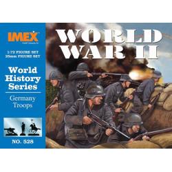 WWII GERMANS. Escala 1:72. Marca Imex. Ref: IM528.