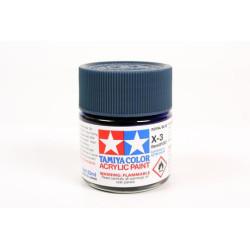 Gloss Royal Blue, Azul Royal Brillo (81003). Bote 23 ml. Marca Tamiya. Ref: X-3.