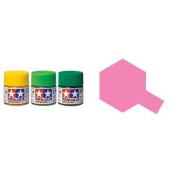 Gloss Pink, Rosa Brillo (81017). Bote 23 ml. Marca Tamiya. Ref: X-17.