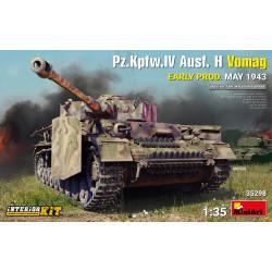 Pz.Kpfw.IV Ausf. H Vomag. EARLY PROD. MAY 1943. INTERIOR KIT. Escala 1:35. Marca Miniart. Ref: 35298.