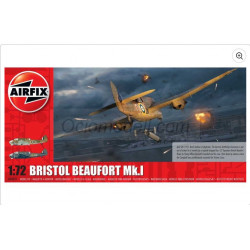 Bristol Beaufort Mk.1. Escala 1:72. Marca Airfix. Ref: A04021.
