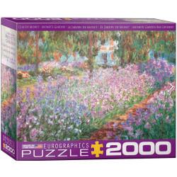 Monet's Garden. Puzzle Horizontal, 2000 pz. Marca Eurographics. Ref: 8220-4908.