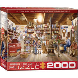 The General Store. Puzzle Horizontal, 2000 pz. Marca Eurographics. Ref: 8220-5481.