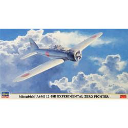 Mitsubishi A6M1 12-SHI EXPERIMENTAL ZERO. Escala 1:48. Marca Hasegawa. Ref: 09840.