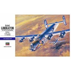 B-24J LIBERATOR. Escala 1:72. Marca Hasegawa. Ref: E29.