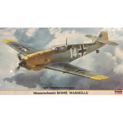 Messerschmitt Bf109E 'Marseille'. Escala 1:48. Marca Hasegawa. Ref: 09892.