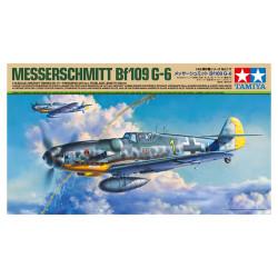 Messerschmitt Bf 109 G-6. Escala 1:48. Marca Tamiya. Ref: 61117.