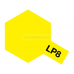Lacquer paint, lacquer pure yellow. Bote 10 ml. Marca Tamiya. Ref: LP-8( LP8).