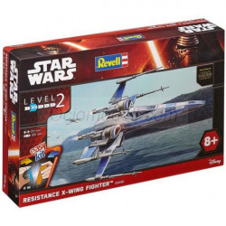 STAR WARS: X-WING FIGHTER RESISTANCE. Escala 1:50. Marca revell. Ref: 06696.