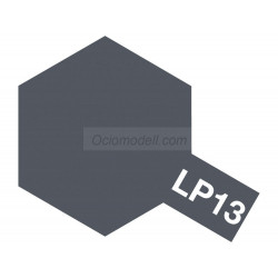 Lacquer paint, lacada gray ( sasebo arsenal  ). Bote 10 ml. Marca Tamiya. Ref: LP-13 ( LP13).