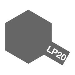 Lacquer paint ,light  gun metal. Bote 10 ml. Marca Tamiya. Ref: LP-20( LP20).