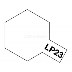 Lacquer paint , flat clear  . Bote 10 ml. Marca Tamiya. Ref: LP-23( LP23).