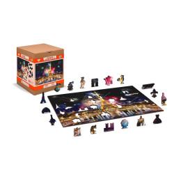 Paris by Night, Puzzle de madera con piezas de doble cara. 300 pz. Marca Wooden City. Ref: FR0019L.
