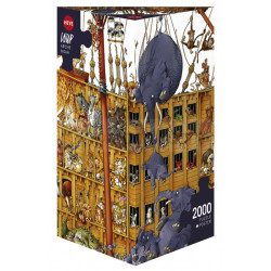 Arche Noah. Puzzle Horizontal, 2000 pz. Marca Heye. Ref: 25475.