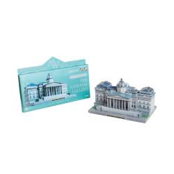 Museo Nacaional de Londres. Puzzle 3D de Montaje. Serie de Museos del mundo. Marca Clever Paper. Ref: 590.