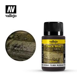 Weathering effects, Russian Mud (Barro Ruso). Bote de 40 ml. Marca Vallejo. Ref: 73.808.