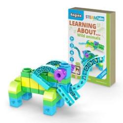 Steam labs junior ``Animales salvajes´´5 modelos . Kit construction blocks. Marca Engino. Ref: STL11.