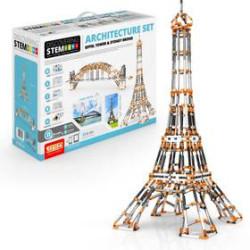 Stem Set de Arquitectura : ``Torre Eiffel y Puente de Sydney´´2 modelos . Kit construction blocks. Marca Engino. Ref: STEM55-ES.