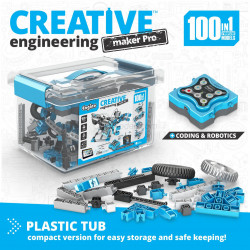 Conjunto de 100 modelos robotizados Creative Engineering Maker Pro. Kit construction blocks. Marca Engino. Ref: CE101MP.