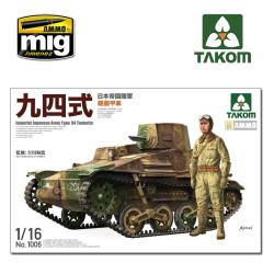 Imperial Japanese Army Type 94 Tankette. Escala 1:16. Marca Takom. Ref: 1006.