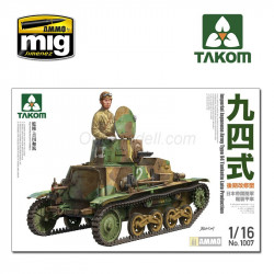 Imperial Japanese Army Type 94 Tankette Late Production. Escala 1:16. Marca Takom. Ref: 1007.