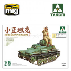 Chinese Army Type 94 Tankette. Escala 1:16. Marca Takom. Ref: 1009.