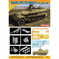 Sd.Kfz.251/10 Ausf.C w/3.7cm PaK. Escala 1:72. Marca Dragon. Ref: 7314.
