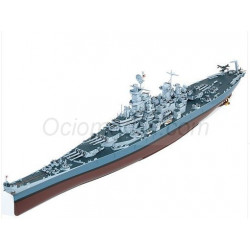 USS Missouri BB-63. Escala: 1:400. Marca: Academy. Ref: 14401.