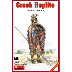 Figura GREEK HOPLITE IV CENTURY B.C.. Escala 1:16. Marca Miniart. Ref: 16013.