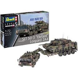 SLT 50-3 Elefant & Leopard 2A4. Escala 1:72. Marca Revell. Ref: 03311.