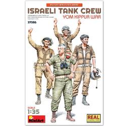 ISRAELI TANK CREW. YOM KIPPUR WAR . Escala 1:35. Marca Miniart. Ref: 37086.