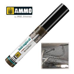 EFFECTS BRUSHER: Fresh Engine Oil. Marca Ammo of Mig Jimenez. Ref: AMIG1800.