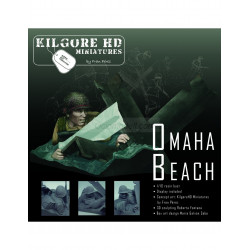 Omaha Beach. Escala 1:10. Marca Kilgore HD Miniature. Ref: Omaha Beach.