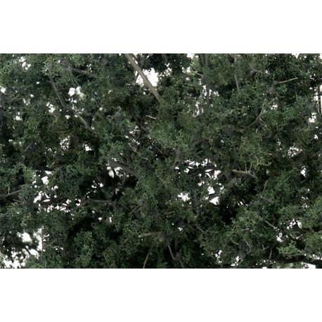 Follaje para crear arboles, color verde oscuro, Ref: F1130.
