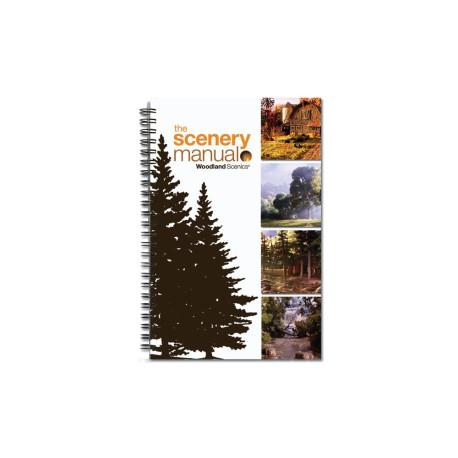Manual explicativo de como realizar paisajes, Woodland Scenics, Ref: C1207.