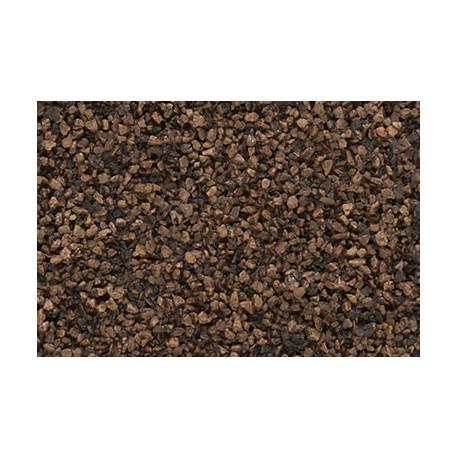 Gravilla color Brown lastre grueso 383 cm, Woodland Scenics, bolsa, Ref: B85