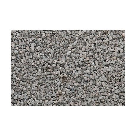 Gravilla color Gris grueso 383 cm, Woodland Scenics, bolsa, Ref: B89