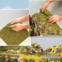 Manto de flora, para todas las escalas, Marca Busch, Ref: 7392.