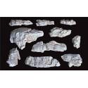 Molde de rocas para realizar en escayola o yeso, Ref: C1230.