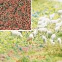 Flocado de flores granates, Marca Busch, Ref: 7356.