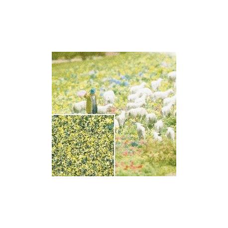Flocado de flores amarillas, Marca Busch, Ref: 7358.