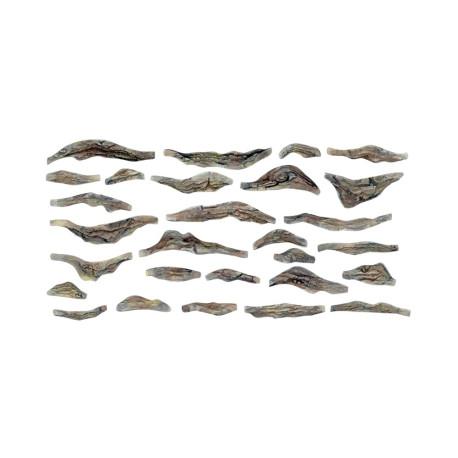 Molde de rocas para realizar en escayola o yeso, Ref: C1245.