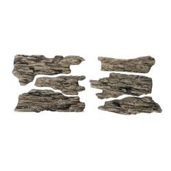 Rocas prefabricadas de yeso y pintados a mano, Ref: C1136.