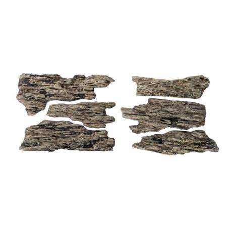 Rocas prefabricadas de yeso y pintados a mano, Ref: C1136