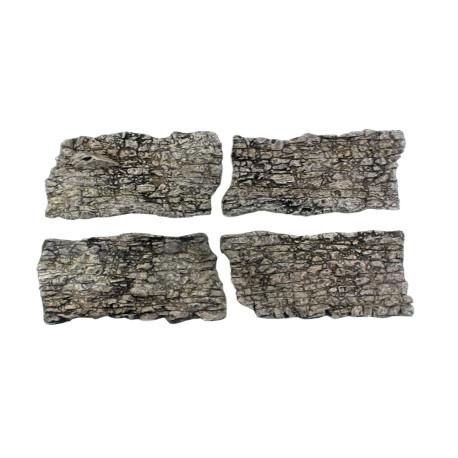 Rocas prefabricadas de yeso y pintados a mano, Ref: C1138
