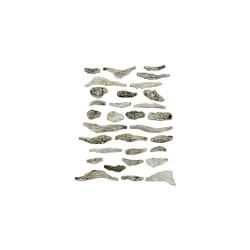 Rocas prefabricadas de yeso y pintados a mano, Ref: C1141.