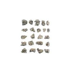 Rocas prefabricadas de yeso y pintados a mano, Ref: C1142.