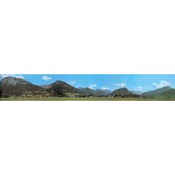 Paisaje para fondo Maqueta 2900 x 450 mm. Marca Faller. Ref: 180516