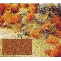Flocado marrón seco, ambiente, otoñal. Marca Busch, Ref: 7325.